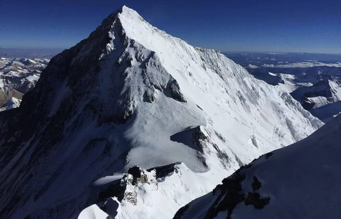 Chulu East Klettern