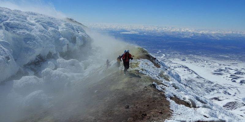 Hohenbergsteigen Skitour Kamtschatka 04
