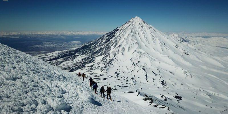 Hohenbergsteigen Skitour Kamtschatka 06