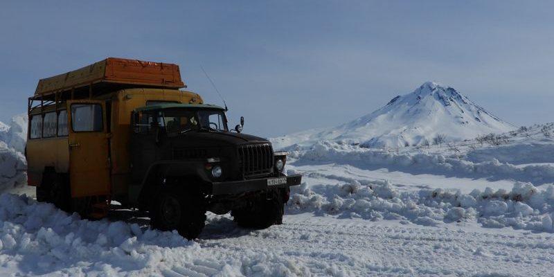Hohenbergsteigen Skitour Kamtschatka 07