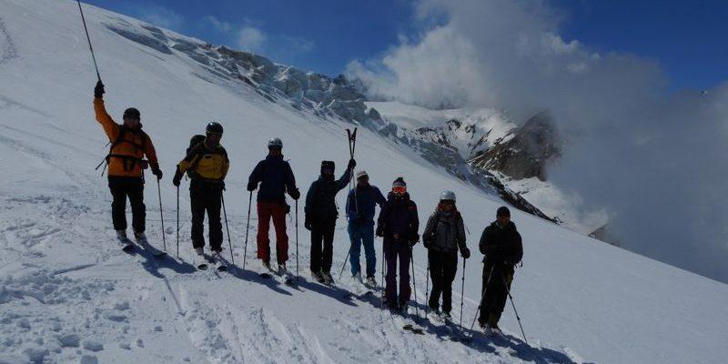 Hohenbergsteigen Skitour Kamtschatka 12