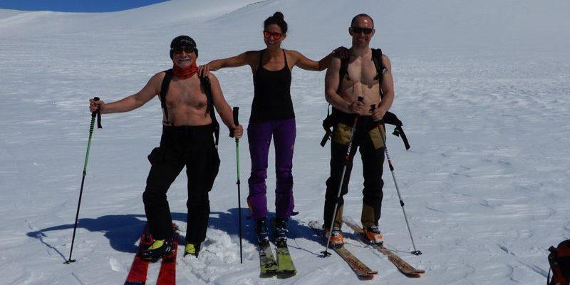 Hohenbergsteigen Skitour Kamtschatka 18